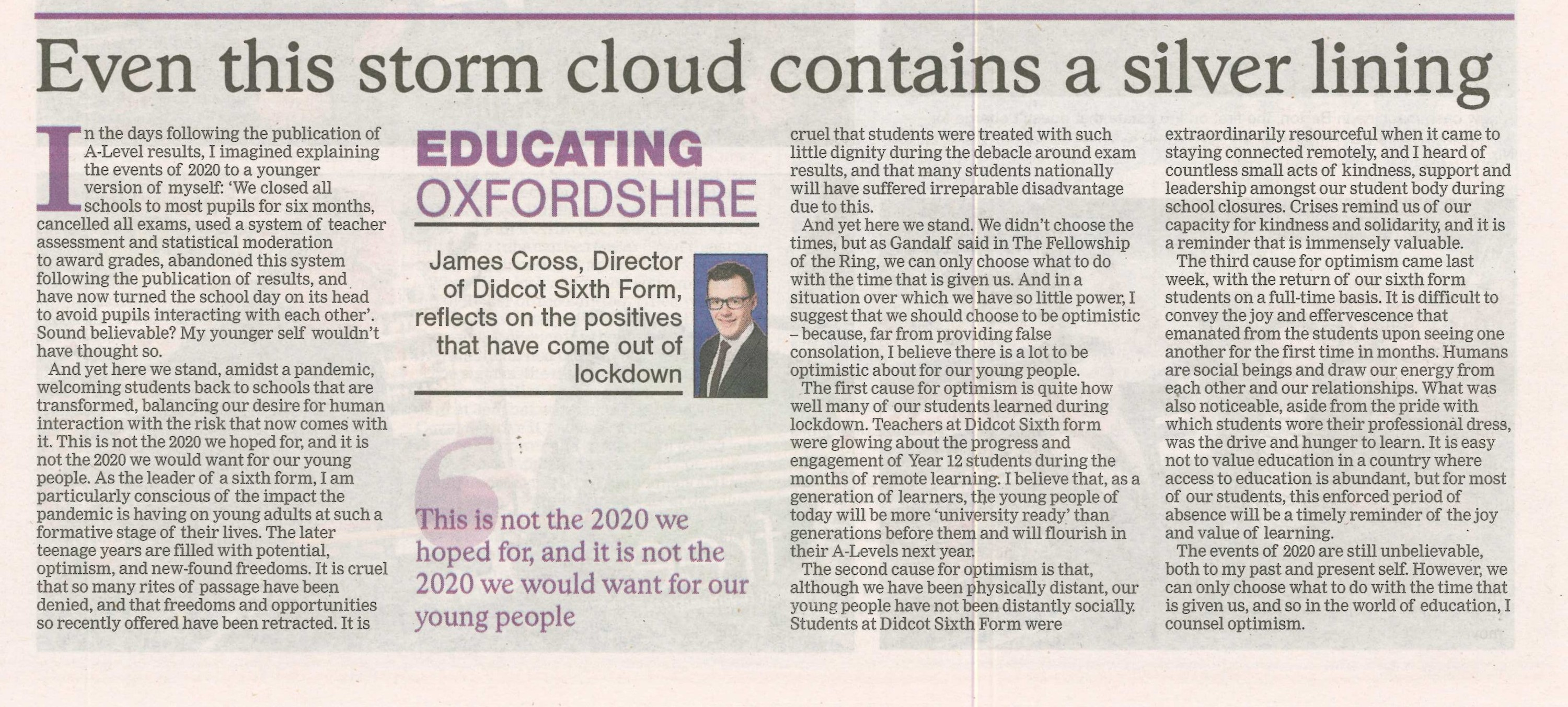 Jfc oxford times 10 sept 20