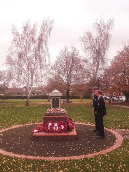 Sbs remebrance students 11 11 20