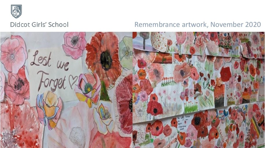 Dgs artwork for remembrance 2020